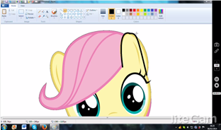 How To Copy Fluttershy To Draw