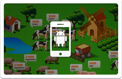 mobile android farm game