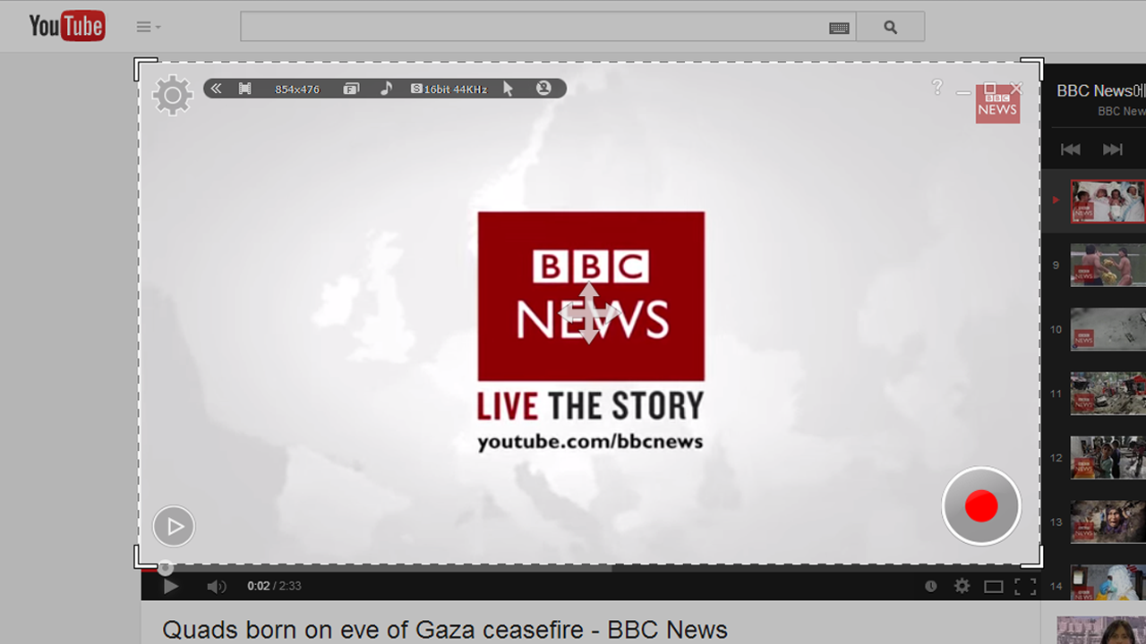 youtube bbc live the story